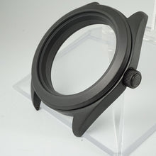 Load image into Gallery viewer, MBI391 – Matte Black 3 o'clock Case + Installed Double Domed Crystal