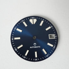 Load image into Gallery viewer, LDODB9 - Dark Blue Sunburst Dial v3 w/Date - BGW9