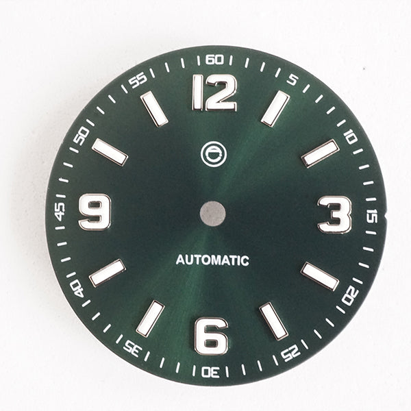 LDXG03 - Green Sunburst 12 3 6 9 - no Date
