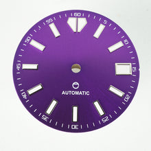 Load image into Gallery viewer, LDOP01 - Purple Sunburst Dial w/Date