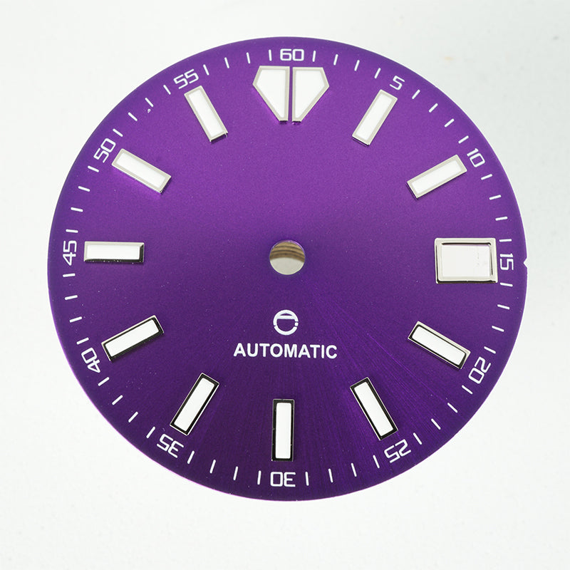 LDOP01 - Purple Sunburst Dial w/Date