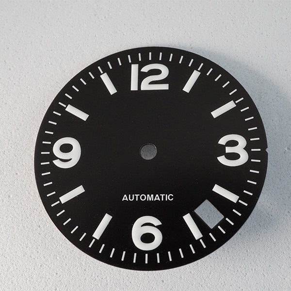 LDP001 - Black Big Numbers Dial