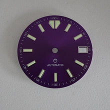 Load image into Gallery viewer, LDOP02 - Purple Sunburst Dial w/Date