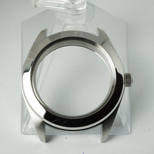 Load image into Gallery viewer, PSI391 – Polished Silver 3 o'clock Case + Installed Double Domed Crystal