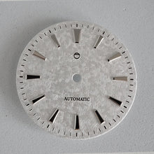 "Load image into Gallery viewer, GDOWS1 - White ""Snowflake"" Textured Dial w/ Polished Indices"