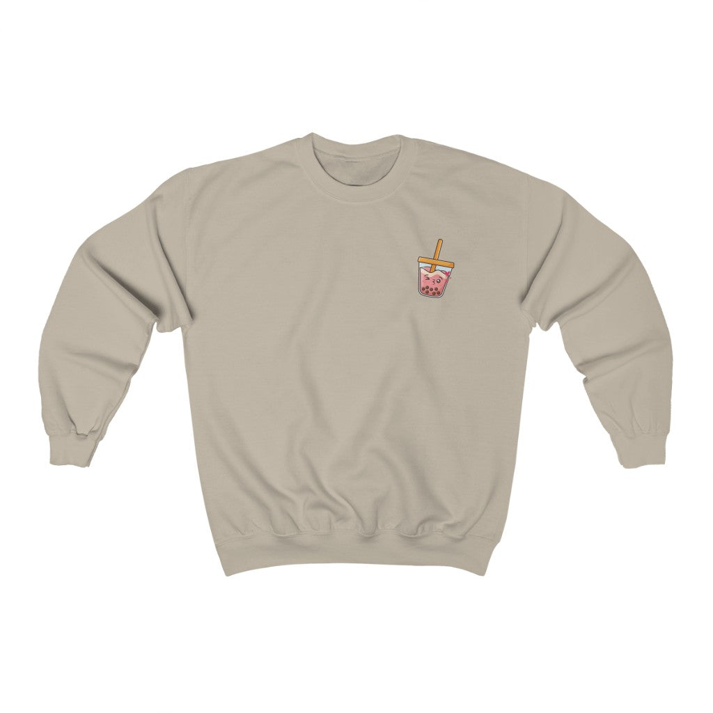 Swipe Right Strawberry Crewneck