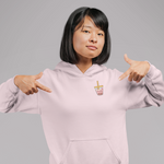 Load image into Gallery viewer, Swipe Right Strawberry Hoodie