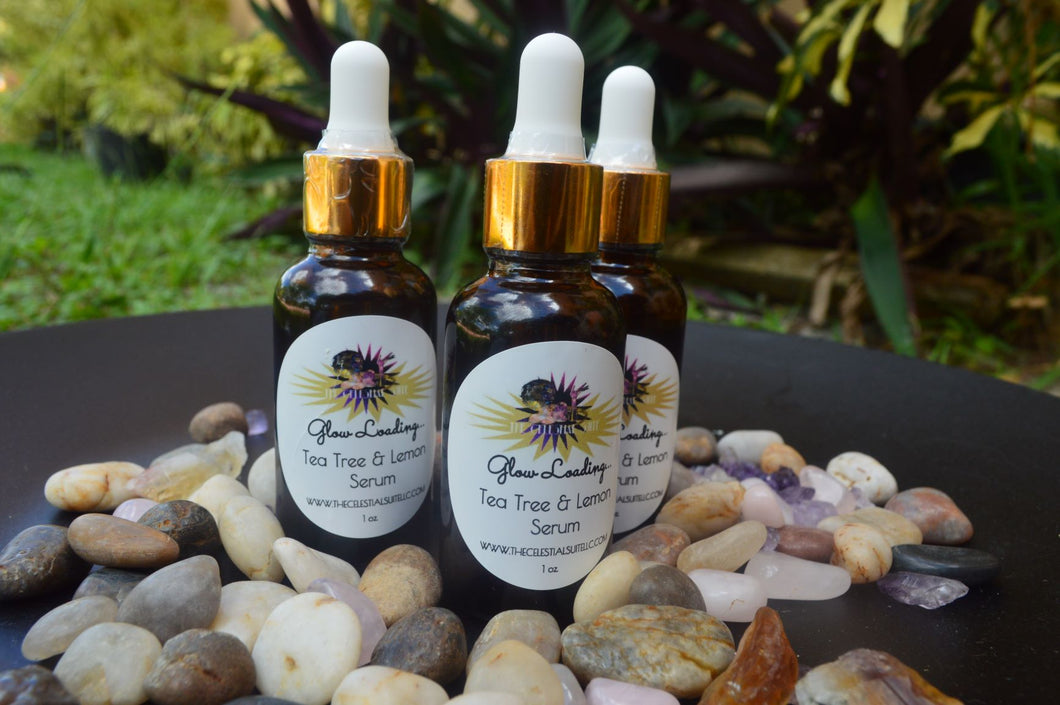 Glow Loading: TeaTree & Lemongrass Serum