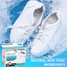 Load image into Gallery viewer, XROM Turbo Washing For White Sneakers, Remove Dirt and Stains, 6 uses - xrominc