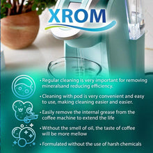 Load image into Gallery viewer, XROM Professional Cleaning Pods Compatible with All Keurig K-Cup 2.0 Brewers, 6 Cup per Pack - xrominc
