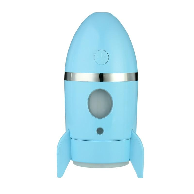Rocket Lamp Air Humidifier Ultrasonic Timer Water Fogger  Aroma Lamp