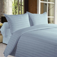 Load image into Gallery viewer, 4-Piece Set: Ultra-Soft Lux Decor Striped 1800 Series Sheets