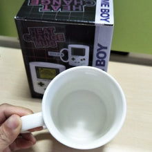 Load image into Gallery viewer, Game Boy Color Changing Mug White Ceramic Milk Tea Cup Heat Change Mug For Kids