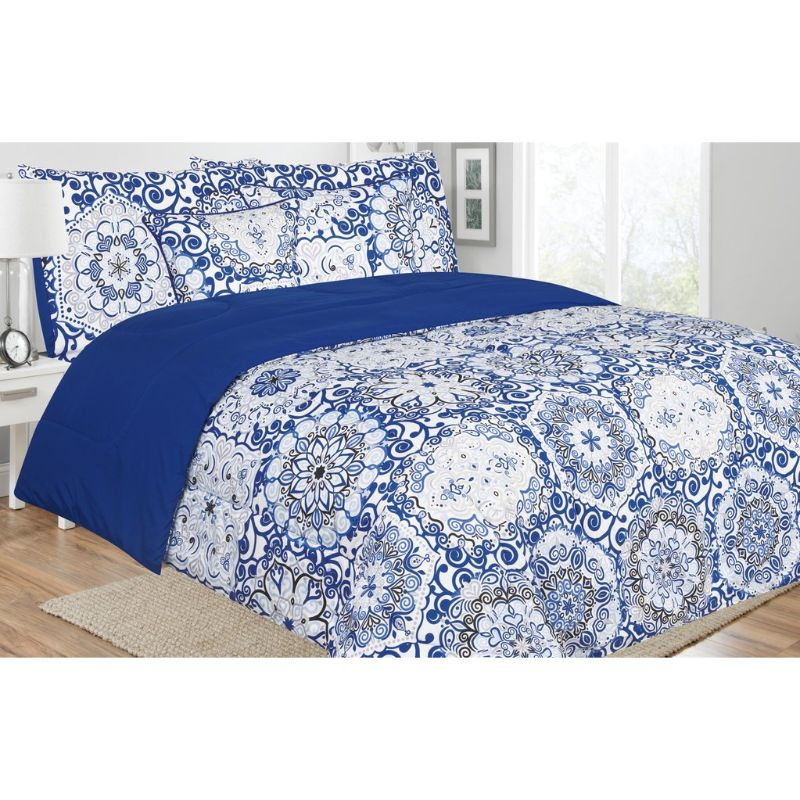Reversible 5 Piece Comforter Sets