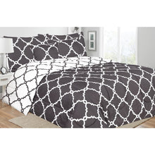 Load image into Gallery viewer, Reversible 5 Piece Comforter Sets