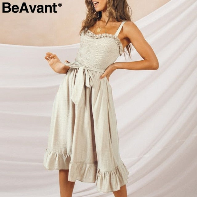 Elegant ruffle pleated women dress - Many Colors to Choose