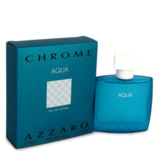 Load image into Gallery viewer, Chrome Aqua Eau De Toilette Spray By Azzaro