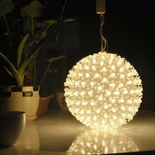 Load image into Gallery viewer, 12/14/18cm LED Lamp Cherry Blossom Flower String Ball Lights Lamp AC 220V Holiday christmas wedding Party Sakura Garland Decor