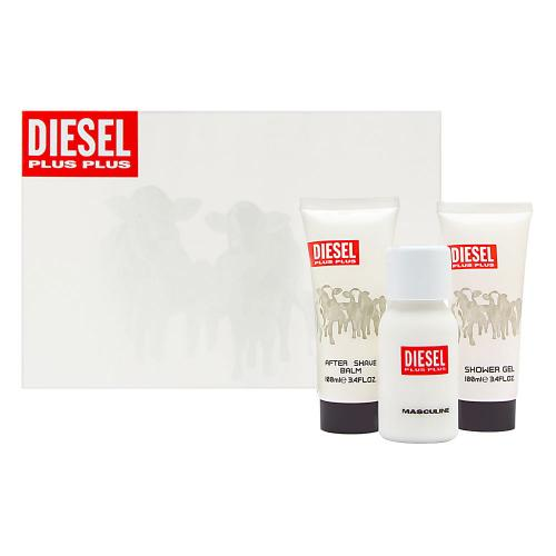 DIESEL PLUS PLUS 3 PCS SET FOR MEN: 2.5 SP (HARD BOX)
