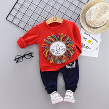 Load image into Gallery viewer, Kids Clothes Baby Boys Costume Star camouflage Tracksuit Tops Pants 2PCS Children Newborn Boy spring Outfits girls infantil Set