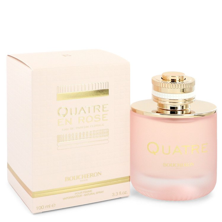 Quatre En Rose Florale Eau De Parfum Spray By Boucheron