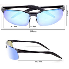 Load image into Gallery viewer, Men's Ultralight Metal Frame  Aluminum Alloy & Magnesium Sporty Sunglasses