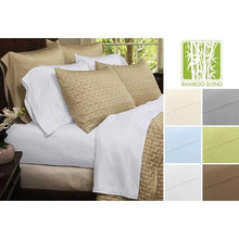Load image into Gallery viewer, Ultra-Soft 1800 Series Bamboo Blend Sheets Four-Piece Set - 6 Colors