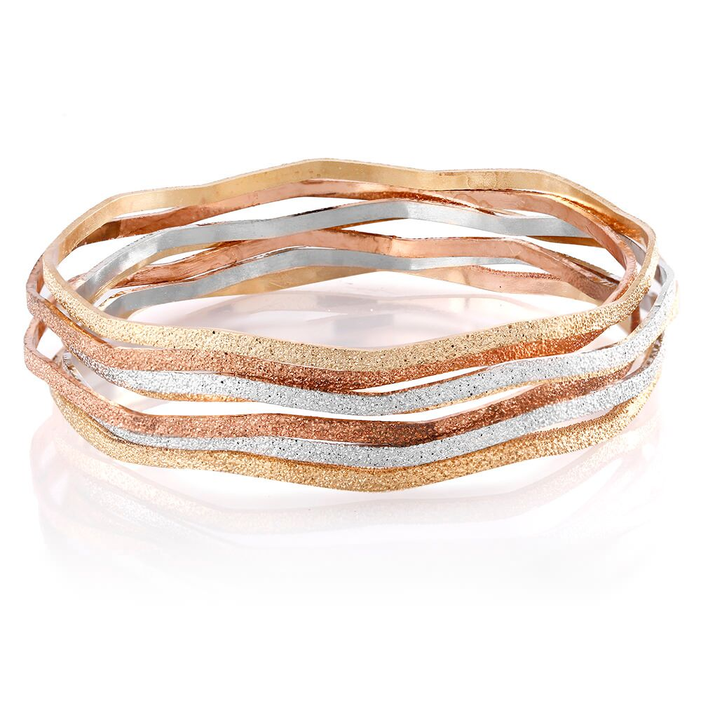 7 Piece Stackable Bangle Bracelet