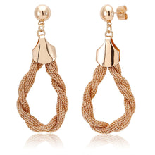 Load image into Gallery viewer, 18kt Gold Plated Drop Fancy Earrings