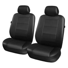 Load image into Gallery viewer, Universal Fit Synthetic Leather Car Seat Protector Cover Set