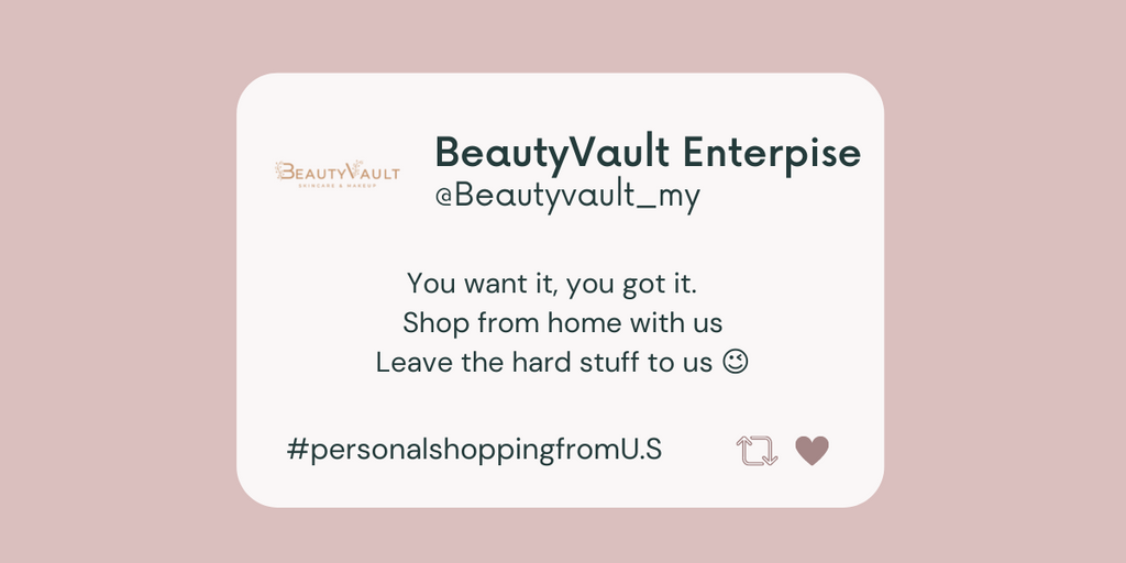 Personal shopping from the U.S to Malaysia