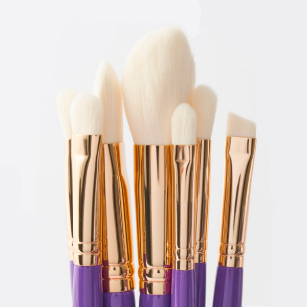 7-pcs Purple Brush Set