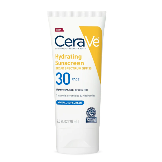 Hydrating Sunscreen SPF30 Face Lotion