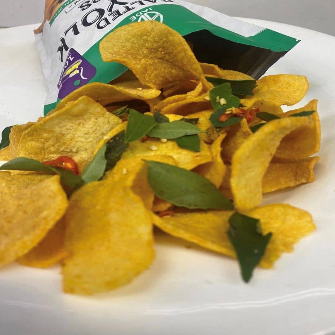 Salted Egg Yolk Chips