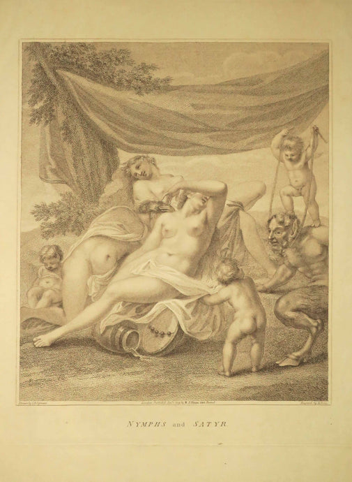 Nymphs and Satyr.