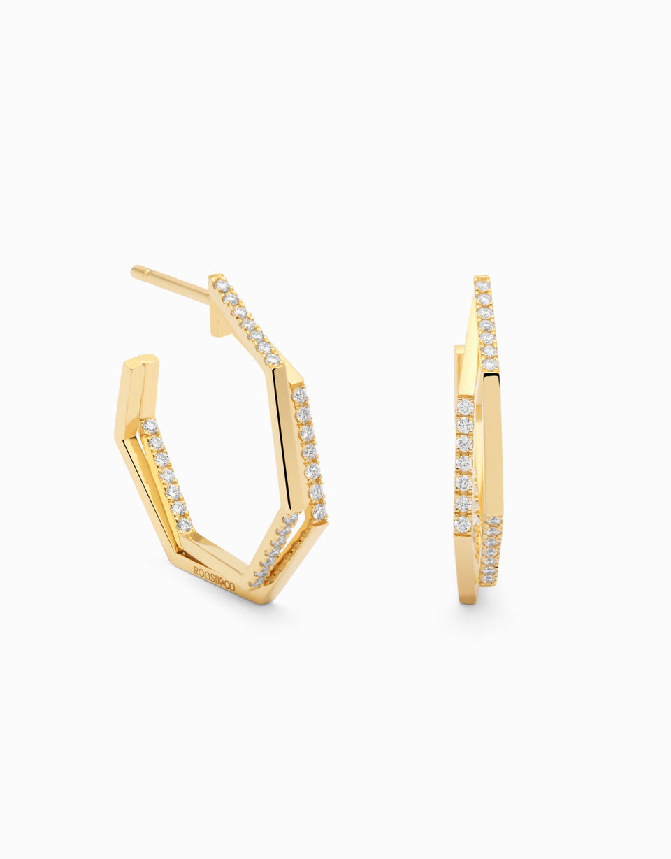 Biggie Earrings · Diamond
