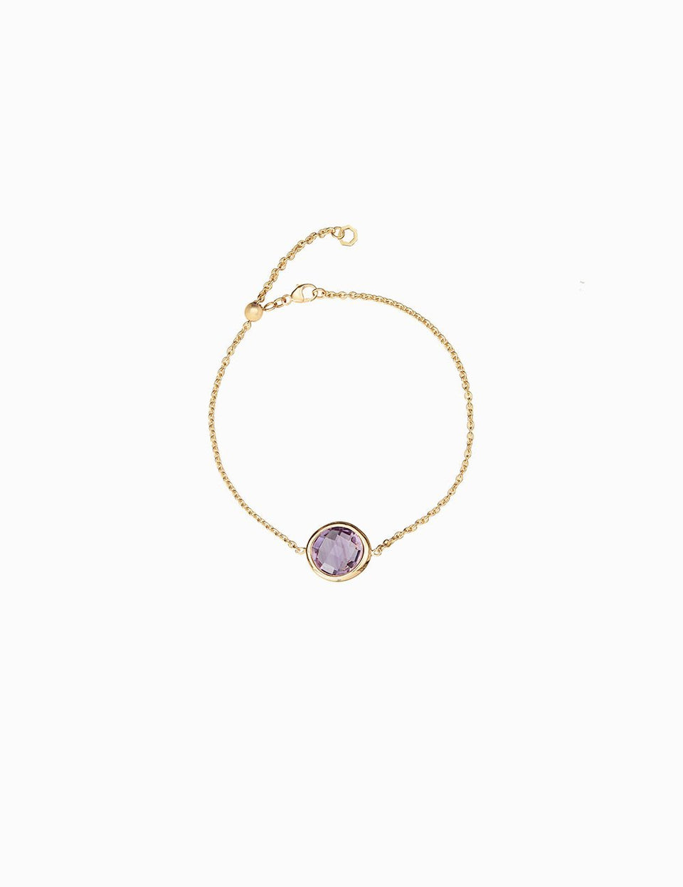 Roosik&Co - Blossom Bud Bracelet- Yellow Gold and Natural Gems