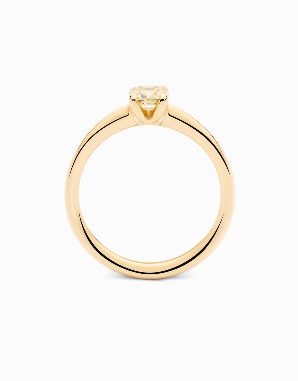 Pure Yellow · Engagement Ring