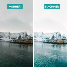 "Lade das Bild in den Galerie-Viewer, Lightroom Preset ""Norwegen"" Desktop & mobil"