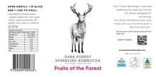 Load image into Gallery viewer, Fruit of the Forest Kombucha - 24 x 330ml bottles