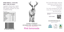 Load image into Gallery viewer, Pink Lemonade Kombucha - 24 x 330ml bottles