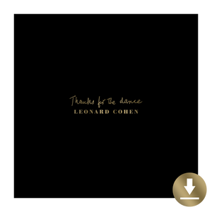 Thanks For The Dance Digital Download