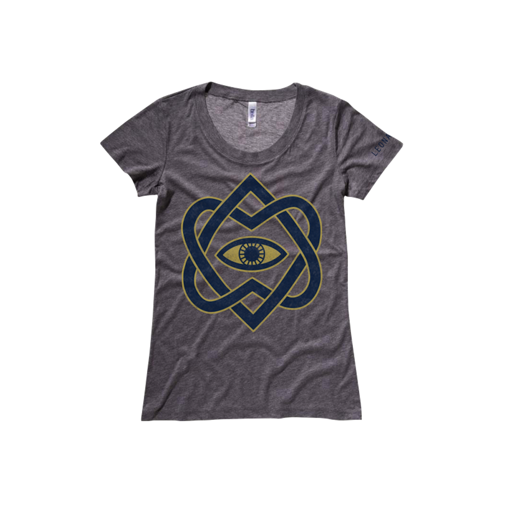 Golden Eye Girls Tee - Leonard Cohen
