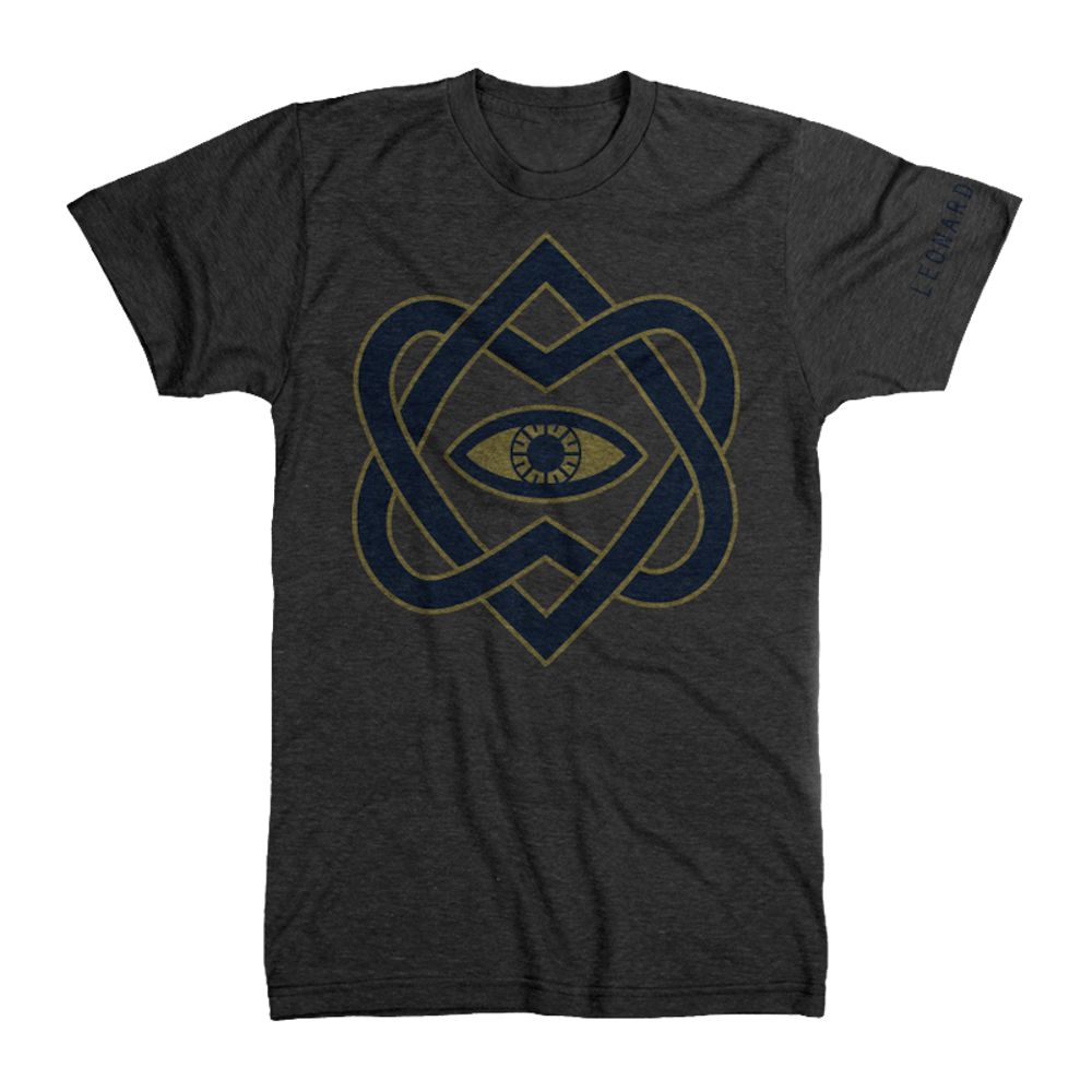 Golden Eye Unisex Tee - Leonard Cohen