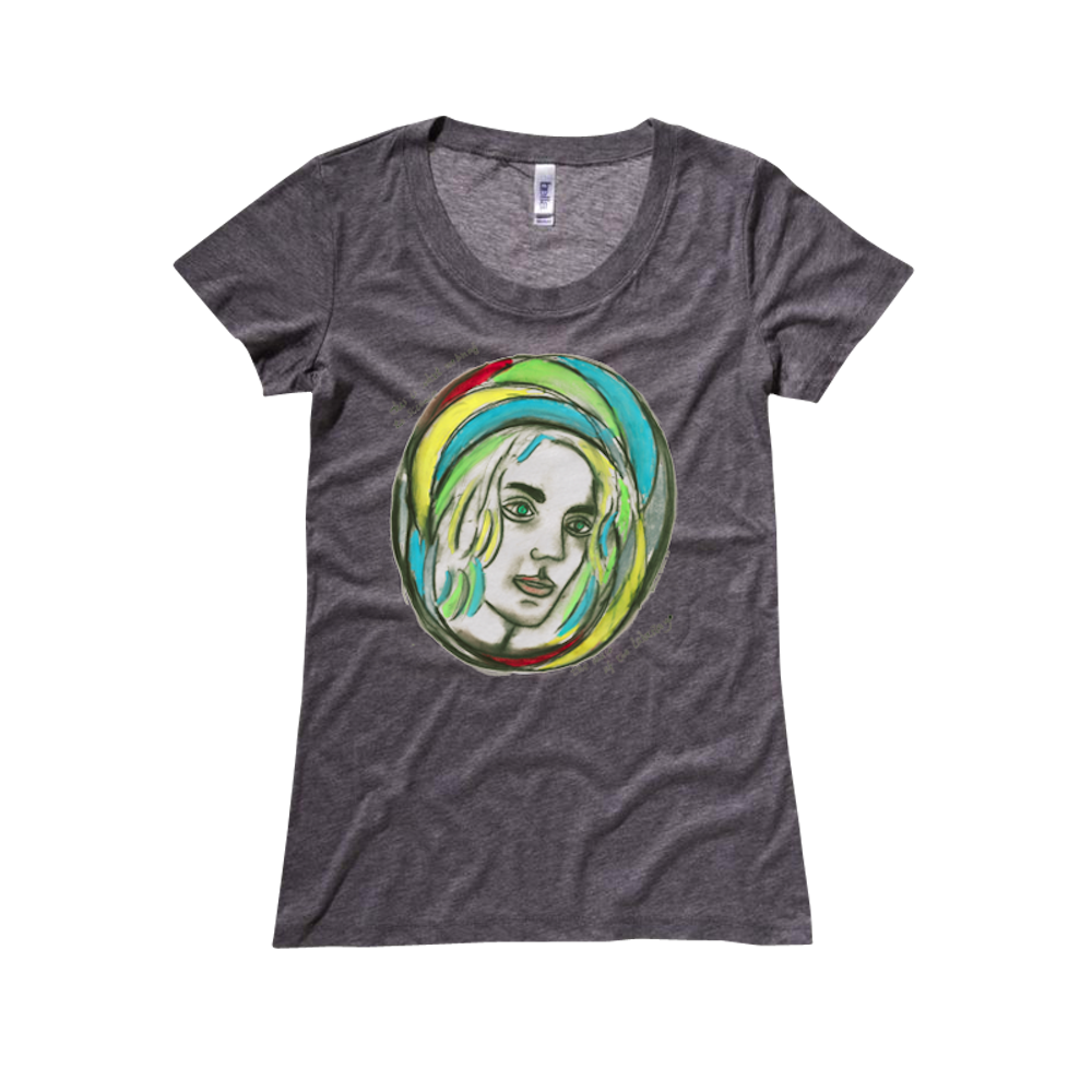 Muse Girls Tee - Leonard Cohen
