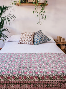 Kavya Rosa bed covers