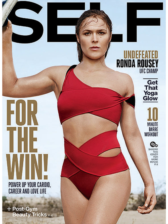 Rhonda Rousey in SELF November 2015