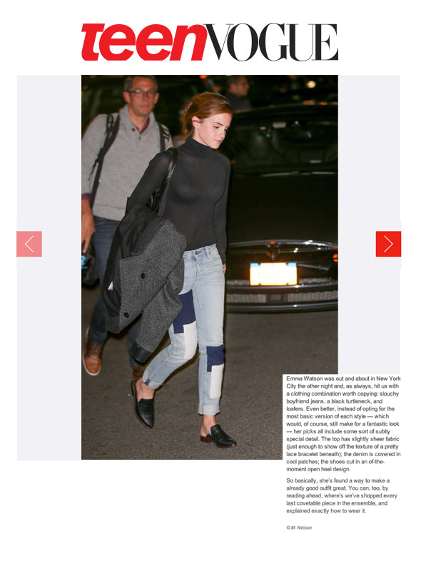 Emma Watson Wears ALIX in Teen Vogue