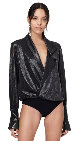 Reade Metallic Bodysuit