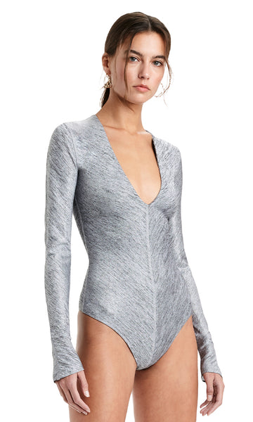 IRVING Metallic Bodysuit